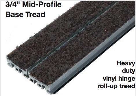 """Mid Profile Aluminum Rollgrate - 3/4"""""""