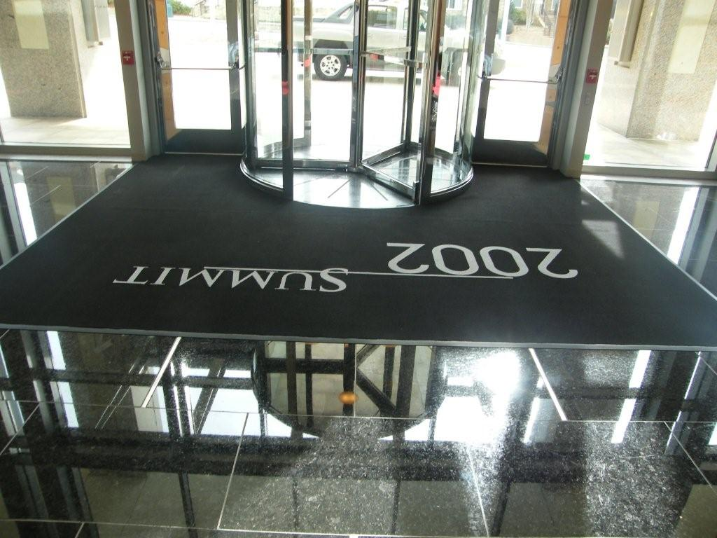 Custom Entrance Mat with Logo
