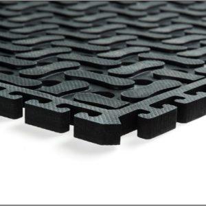 Interlocking rubber floor tiles the mad matter