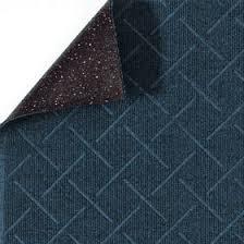 Enviro Plus Indoor Floor Mats - Indigo showing floor mat backing