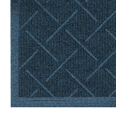 Enviro Plus Indoor Floor Mats - Indigo Close up floor mat edge