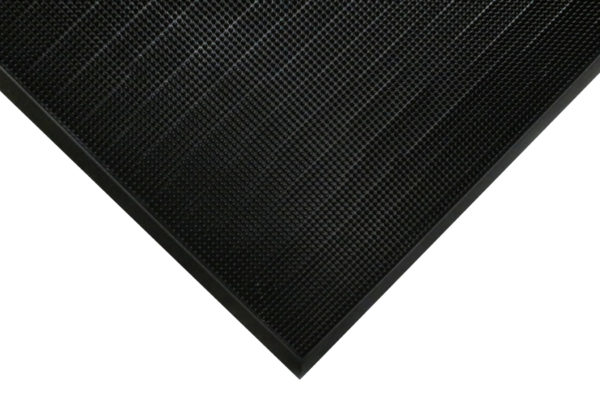 Flex Tip Entrance Mat Top view with floor mat edge detail