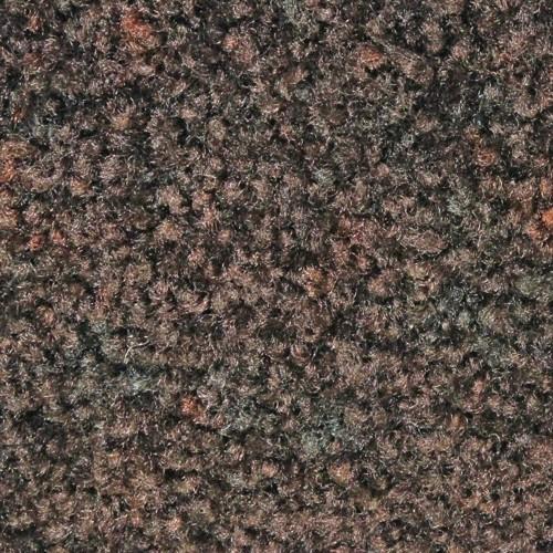 Closeup swatch view of Tri Grip XL large indoor floor mat in Autumn Brown