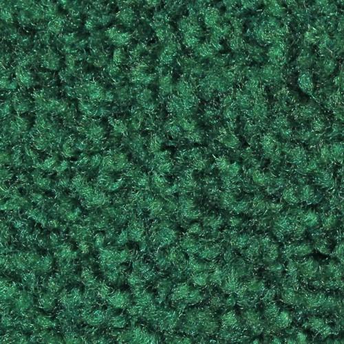 Closeup swatch view of Tri Grip XL large indoor floor mats in Emerald Green