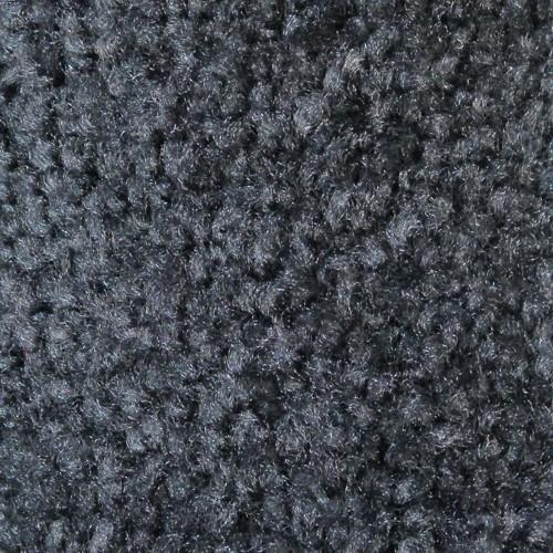 Closeup swatch view of Tri Grip XL large indoor floor matting in Platinum