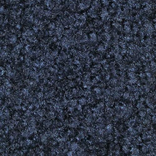 Closeup swatch view of Tri Grip XL large indoor floor mats in Navy