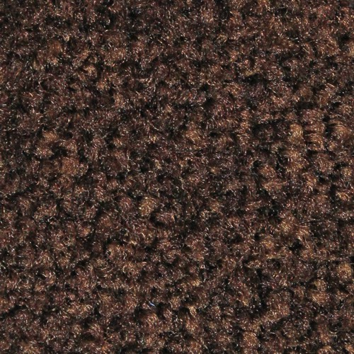 Closeup swatch view of Tri Grip XL large indoor floor mats in Chocolate