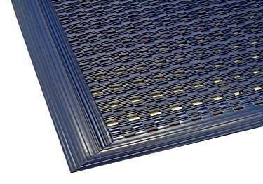 Vinyl Link Walk Off Mat with beveled edge