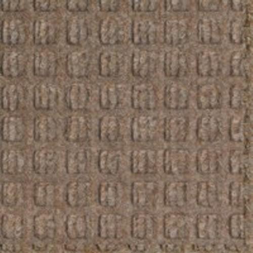 Color Swatch of Medium Brown Waterhog Classic door mat