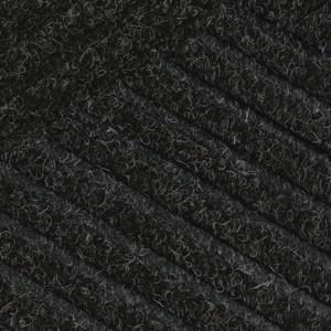 Swatch color Black Smoke of Waterhog Eco Grand Premier front door mats