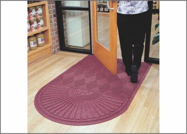 Waterhog Eco Grand Premier used as an indoor floor mat for a retail store