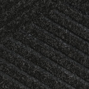 Close up swatch color for Black Smoke Waterhog Eco Premier indoor door mat