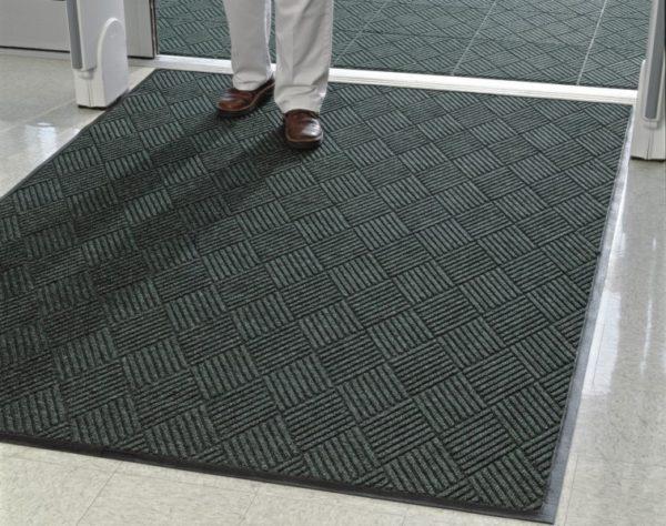 Waterhog Eco Premier Floor Mat used as indoor walk off mat