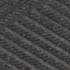 Close up swatch color for Grey Ash Waterhog Eco Premier indoor door mat
