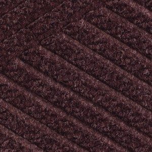 Close up swatch color for Maroon Waterhog Eco Premier indoor door mat