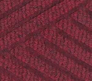 Close up swatch color for Regal Red Waterhog Eco Premier indoor door mat