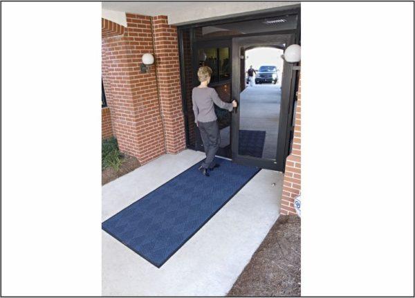 Waterhog Eco Premier Floor mat Indigo outdoor door mat