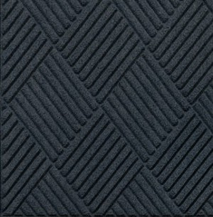 Swatch Color for Charcoal Waterhog Grand Classic entrance matting