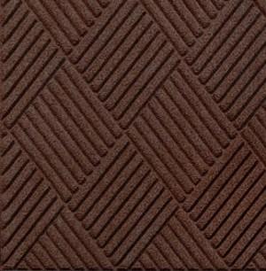 Swatch Color for Dark Brown Waterhog Grand Classic entrance matting