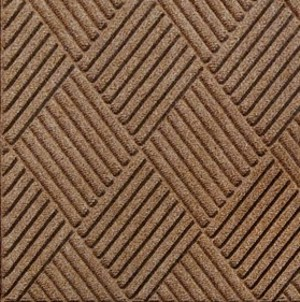 Swatch Color for Medium Brown Waterhog Grand Classic entrance matting