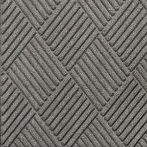 Swatch Color for Medium Grey Waterhog Grand Classic entrance matting