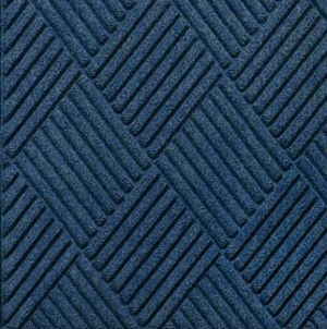 Swatch Color for Navy Waterhog Grand Classic carpet matting