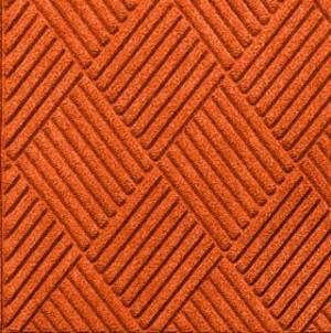 Swatch Color for Orange Waterhog Grand Classic carpet mat