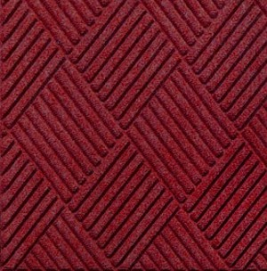 Swatch Color for Red/Black Waterhog Grand Classic entrance matting