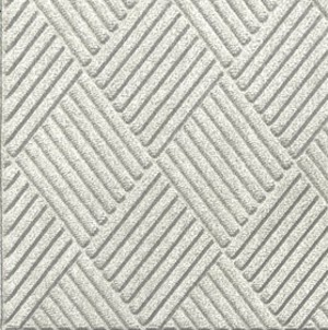 Swatch Color for White Waterhog Grand Classic carpet matting