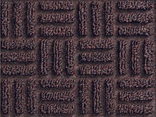 Close up of Waterhog Masterpiece Select Door Mats - Mauve showing floor mat pattern