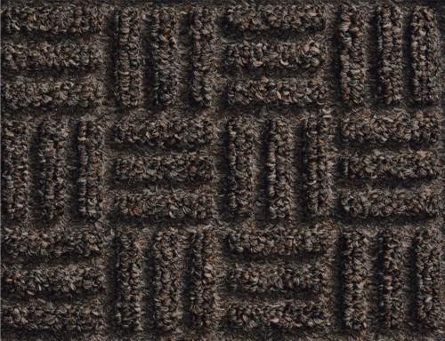 Close up of Waterhog Masterpiece Select Door Mats - Nutmeg showing floor mat pattern