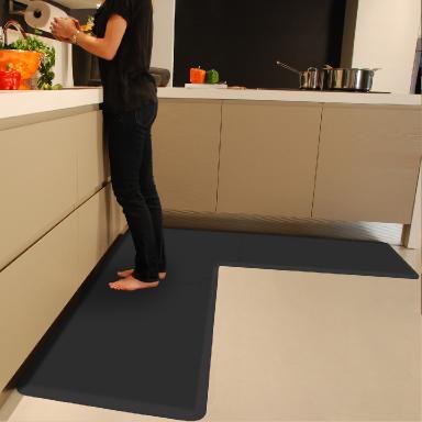 L Shaped Kitchen Floor Mat