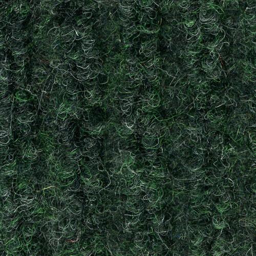 Close up view of ribbed pattern of Dual Rib entrance matting - Green