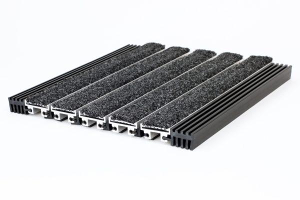 "Aluminum Rollgrate Walk Off Mat - 3/4"""