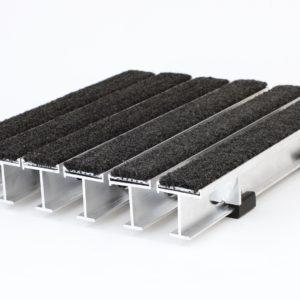 Recessed Aluminum Footgrille Walk Off Mat