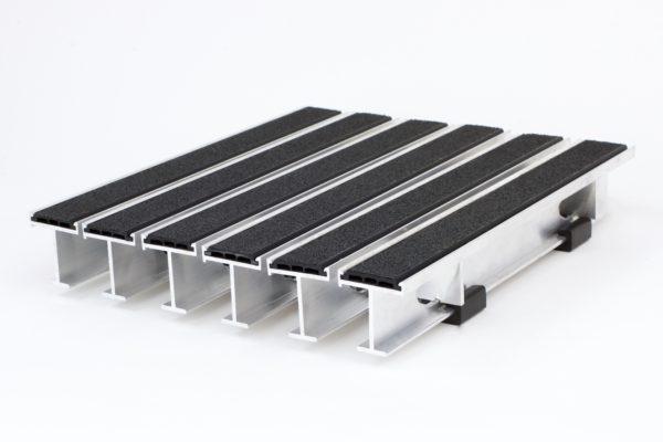 """I-Beam Aluminum Footgrille - 1-3/4"""""""