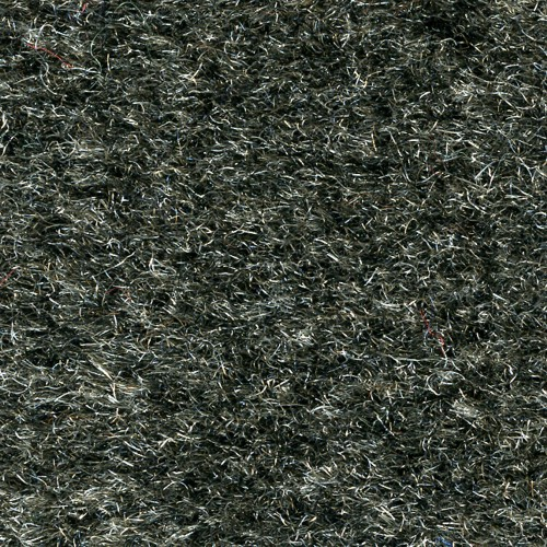 Close up of surface for Olefin indoor floor mats - Charcoal