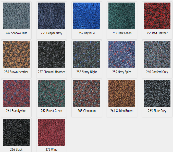 Indoor Rubber Floor Mat Front Door Carpet Mat