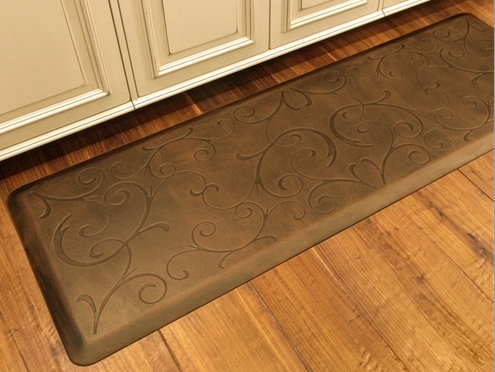 WellnessMat Antique Bella Light Anti Fatigue Kitchen Mats Runner
