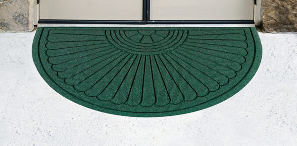 Legacy Grand Half Oval Floor Mat