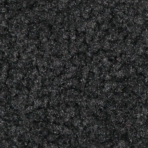 Close up view of Stylist Indoor floor mats nylon fibers in a Charcoal