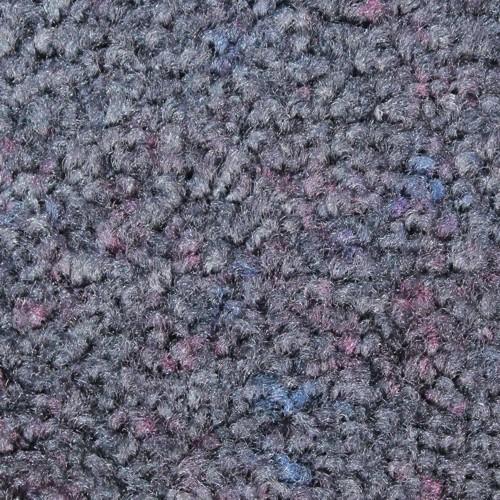 Close up view of Stylist Indoor floor mat nylon fibers in a Stardust Grey