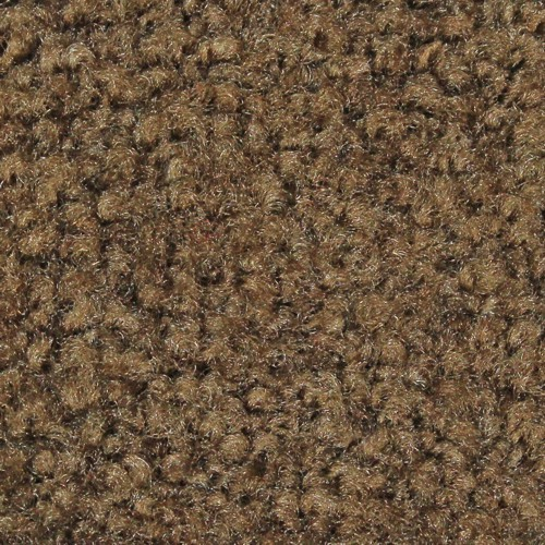 Close up view of Stylist Indoor floor mat nylon fibers in a Suede