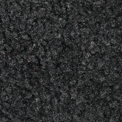 Close up view of Stylist Indoor floor mats nylon fibers in a Cabot Grey