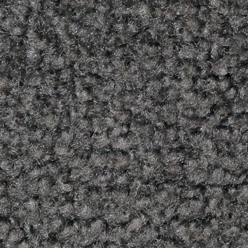 Close up view of Stylist Indoor floor matting nylon fibers in a Grey
