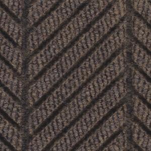 Close Up view of Waterhog Eco Elite Roll Goods floor matting in Chestnut Brown Color