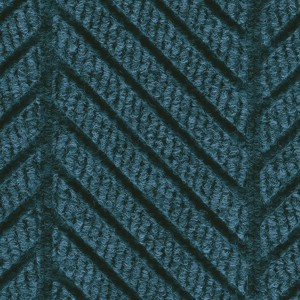 Close up surface pattern and color for Waterhog Eco Elite Roll Goods entry matting in Indigo