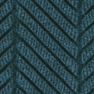Close Up view of Waterhog Eco Elite Roll Goods carpet matting in Indigo Color