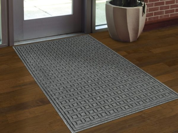 Waterhog Eco Select Floor Mat used as an interior door mat to an office building