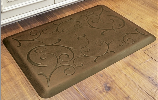 WellnessMat Antique Bella Light Anti Fatigue Kitchen Mats for Standing